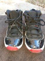 Nike Air Jordan 11 Retro Bred 2019 Style # 378039-061 Size 2.5Y