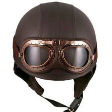 Kleidung, Helme und Schutz für Motorrad in Braun