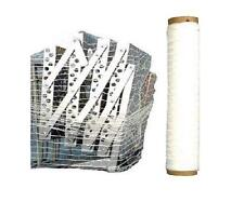 "(5) 20"" 10000' KNITTED/WOVEN STRETCH NETTING MACHINE FILM (PALLET WRAP) 5 ROLLS"