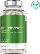 Moringa Capsules   Supplement for Immune System & Detox Boost 60 Pills 1000mg