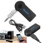 Adaptateur Récépteur Musique Auto Voiture Audio Stéréo Bluetooth Sans Fil 3.5mm