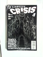 IDENTITY CRISIS n° 1 ( DC Comics ) 2004 Cover by Michael Turner.