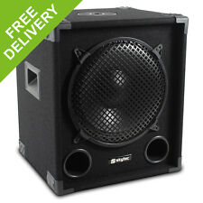 "MAX12SUB 12"" DJ PA Passive Bass SubWoofer Speaker 400W RMS Disco Party"