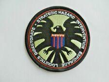 Nick Fury Strategic Hazard Intervention Espionage Directorate Embroidered Patch
