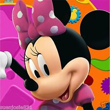 Disney Minnie Mouse Beverage Dessert Napkins 16pcs Party Supplies