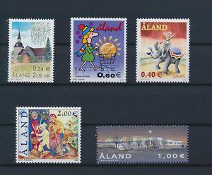 LN22451 Aland mixed thematics nice lot of good stamps MNH