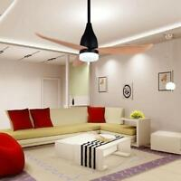 """Modern 44"""" Ceiling Fans Lamp Remote Control  12W Led Chandeliers Lighting Decor"""