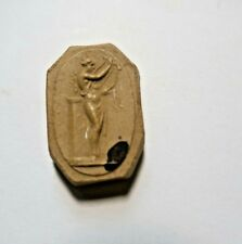 Médaille en plâtre 26 x 17 mm
