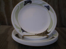 Corelle Dishes Black Orchid White Small Bread & Butter Or Dessert Plates 5 Ct.