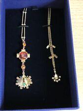 Genuine Swarovski Crystal Necklace Lucky Goddess 5451303
