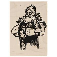 Old Fashioned Santa Wood Mounted Stamp Tim Holtz NEW christmas holiday claus art