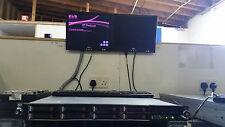 HP Proliant DL360 G7 server 2x X5670 Hex Core ** ** 72 GB 8x 146 GB * SFF SAS VMware 6