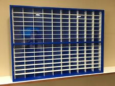 Display case cabinet for 1/64 diecast scale cars (hot wheels, matchbox) 160NBW-9