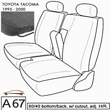 A67 DG Toyota Tacoma RCab XCab Front 60/40 Split Bench Custom Exact Seat Covers