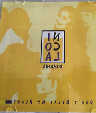 CD PROMO EUROVISION 2003 ROMANIA RUMANIA NICOLA DON'T BREAK MY HEART