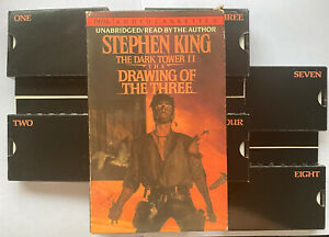Stephen King The Dark Tower II The Drawing Of The Three Audio Cassettes 1989