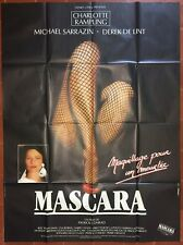 Affiche MASCARA Michael Sarrazin CHARLOTTE RAMPLING Patrick Conrad 120x160cm *