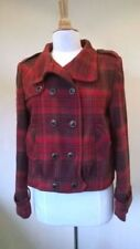 Checked Coats, Jackets Blazer Wool Outer Shell & Waistcoats for Women