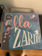 "ELLA FITZGERALD AT ZARDI'S LIVE RSD 2018 12"" LP BLUE VINYL - SEALED!!! RARE"