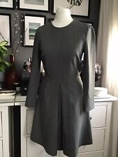 other stories dress Uk 10 Grey Office Shift Sleeves Eur 34