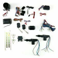 Chevy / GM / BPOC 2 Door Power Lock Keyless Entry Retrofit Kit w Alarm hot rods