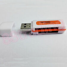 ALL IN ONE USB MEMORY CARD READER FOR MICRO SD HC MS MEMORY STICK PRO DUO M2 MMC