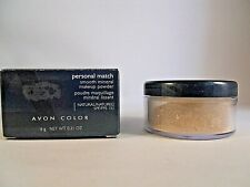 Avon Personal Match Smooth Mineral Makeup Powder Ivory New Old Stock