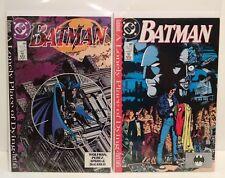 Batman 440 441 A Lonely Place of Dying Comics Lot (2) Part 3 5 -Vintage 1989 DC