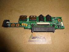 Asus Eee PC 1005HA, 1001P Laptop Power Button / USB / SATA Board. 08G2035HA13Q
