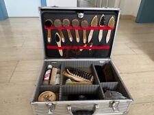 Schuhpflegeset, Schuhputzset im Koffer