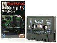 Die drei ??? 89 Fragezeichen Tödliche Spur Hörspiel MC schwarz Europa logo