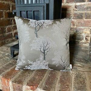 857. Handmade Tree design Jacquard Cushion Cover Various sizes