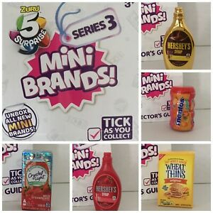 Zuru Mini Brands SERIES 3 - Choose The Ones You Need