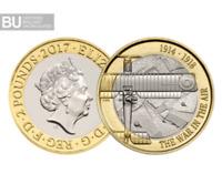 2017 £2 TWO Pound BRILLIANT UNCIRCULATED Coin BU WW1 100th Anniversary Aviation