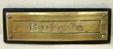 Ancienne Boîte Aux Lettres Fente, Lettres