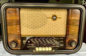 Radio WEGA Type 1001 Herold 1952-1954 + zusätzl. Lautsprecher von Grundig