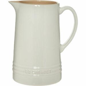 Le Creuset Large ALMOND WHITE Jug 1.5l - vase - pitcher - BNWT