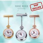 Nurse Pocket Watch Movement with Battery Pendant Rose Gold Silver 2021