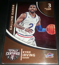 Kyrie Irving 2016-17 Totally Certified CALLING CARDS Insert Card (no.3)