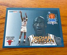 Fleer 92-93 Michael Jordan Orlando All Star Weekend No 6 Of 24 Chicago Bulls