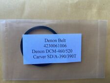 Denon DCM-520 DCM-460 Carver SD/A-390 SD/A-390T CD Player belt 1x ONE