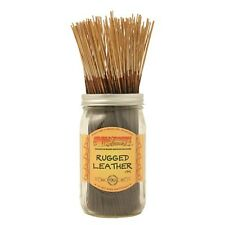 Wildberry RUGGED LEATHER Incense 30 sticks  *FREE SHIPPING* AMERICA'S BEST