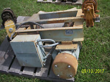 Overhead Trolley Winches - 3; As Is;