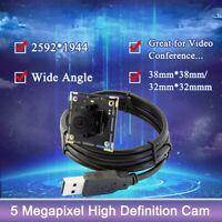 Aptina MI5100 CMOS USB Camera Module Board 5MP 180° Fish Eye For Raspberry Pi