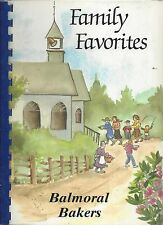 *MEMPHIS TN 1991 BALMORAL BAPTIST CHURCH COOK BOOK *FAMILY FAVORITES *TENNESSEE