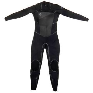O'Neill Wetsuits Women's 5/4mm D-Lux Mod Fluid Seam Weld Full Suit Size 8 #4767