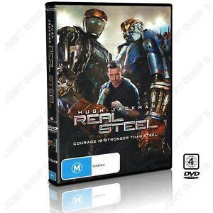 Real Steel DVD : Movie : Hugh Jackman : Brand New