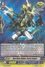 CARDFIGHT VANGUARD CARD: BLUE WAVE SOLDIER, BRUTAL TROOPER G-CB02/024EN R RARE