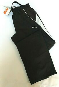 PUMA Mens Woven Pant Black Brand New With Tags Various Sizes