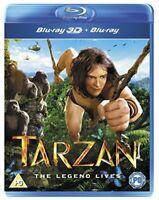 Tarzan [Bluray 3D  Bluray] [2014] [DVD]
